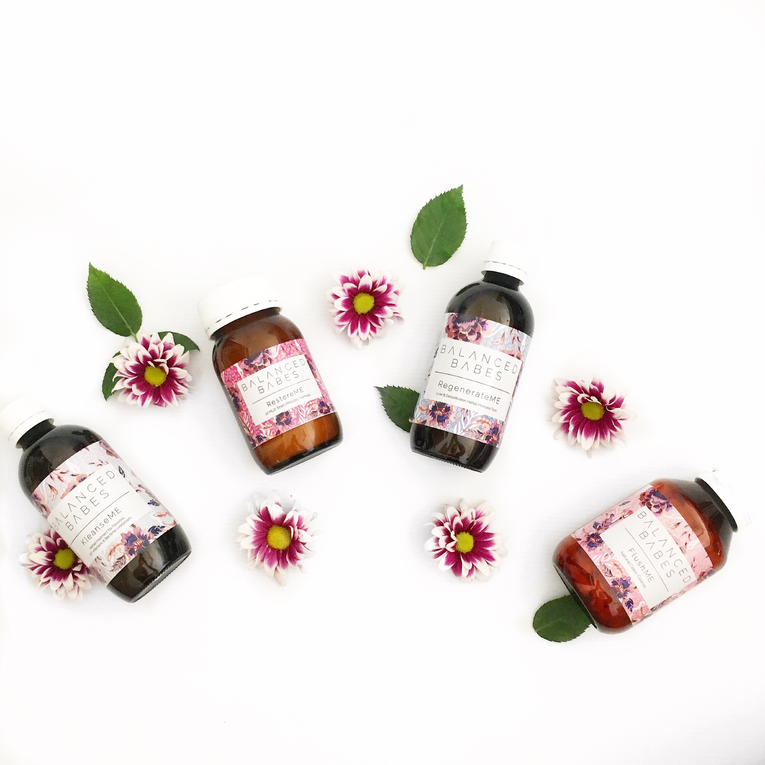 balanced babe cleanse products